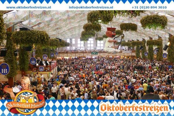Biertafels Oktoberfest Munchen